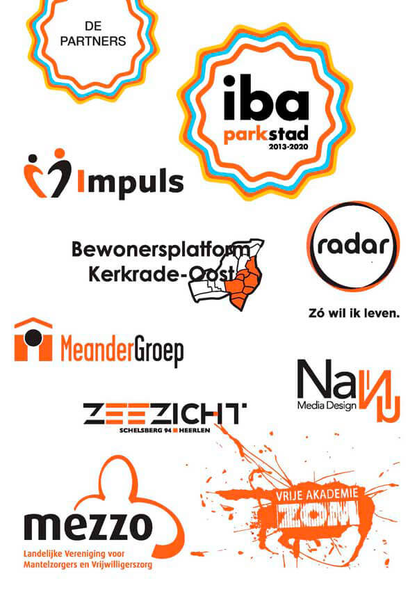 partner1 - IBA t-shirts en posters