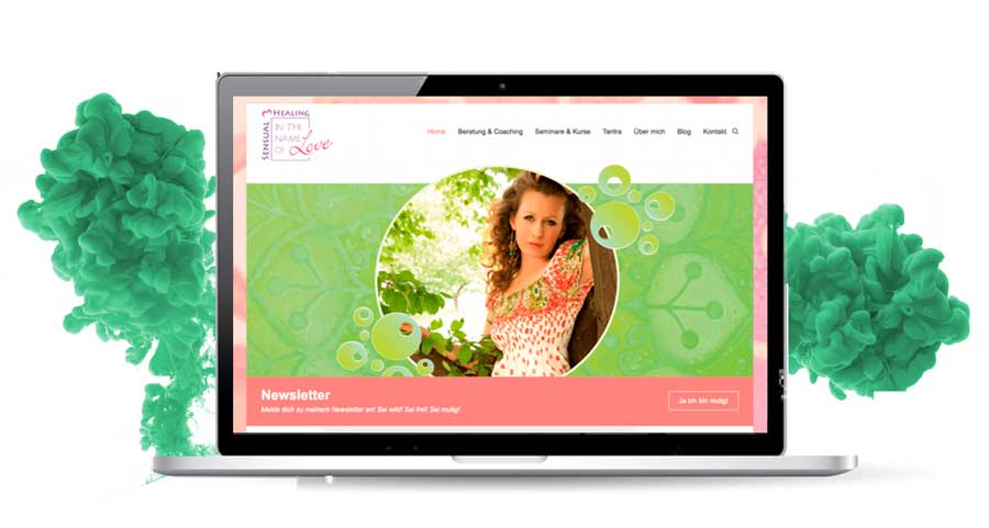 Werbeagentur Neuss Onlinemarketing webdesign inthenameoflove2 - Webpagina - In the name of Love