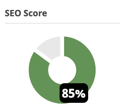 seo score 1 - Was ist Suchmaschinenoptimierung (SEO)?